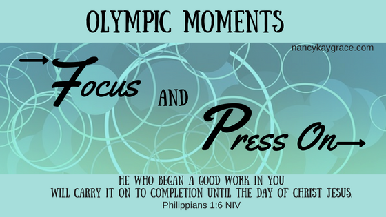 Olympic Moments: Focus and Press On